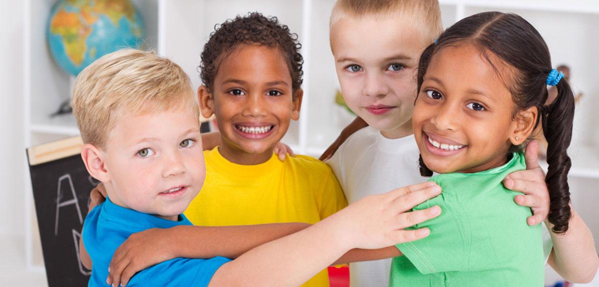 Kids Making Friends in Preschool